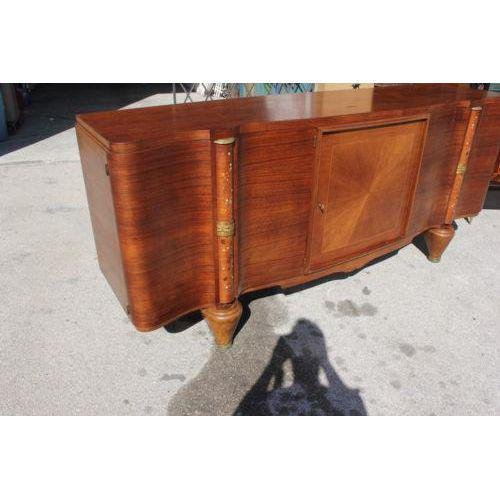 French Art Deco Sideboard / Buffet Jules Leleu Palisander Mother of ...