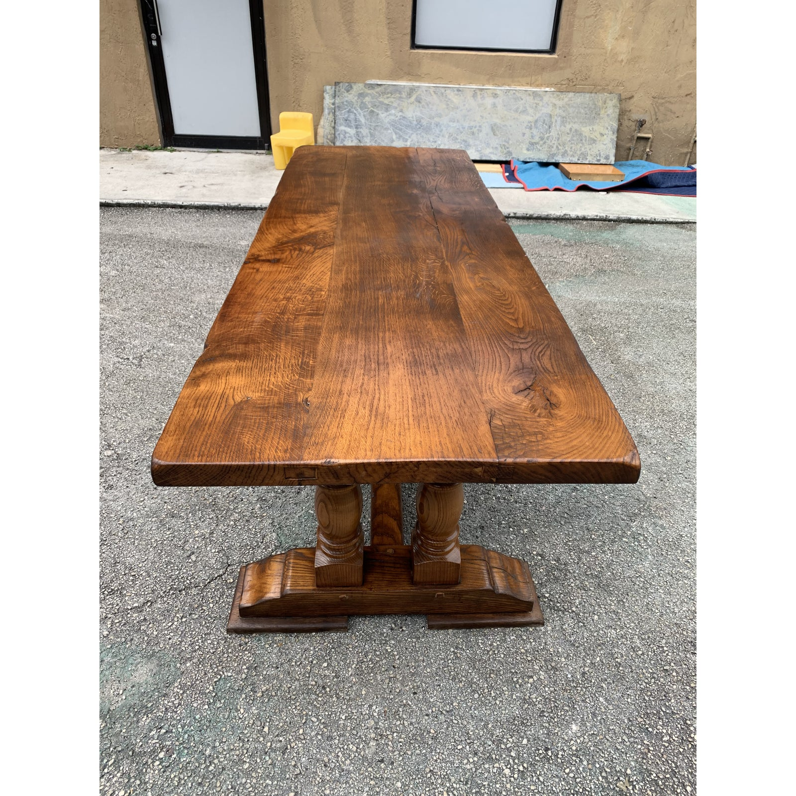 Antique French Normandy Solid Oak
